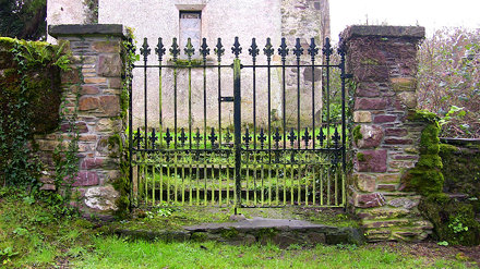 Main Gate to at St. Michaels Church - Templemichael Co. Waterford