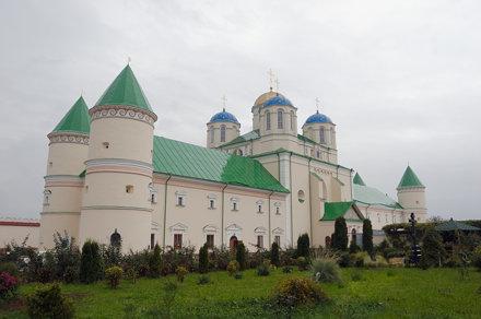 Monastery in Megyrich, Ukraine.