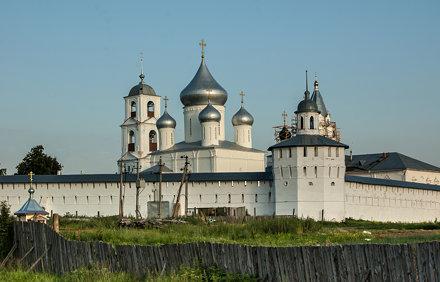 Russia. Golden Ring. Pereslavl-Zalessky. Nikitsky Monastery (St. Nikita's Cathedral)