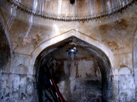 Old alcove