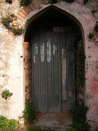 Door of old Hammam