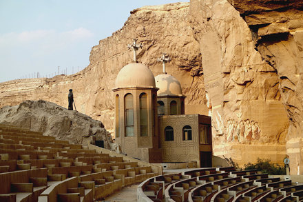 Egypt - Cairo - Saint Simon the Tanner Monastery