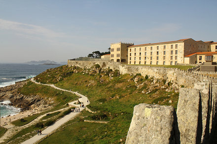 Bayona / Castillo de Monterreal. Parador Nacional