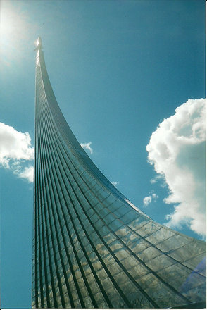 The Space Obelisk, Moscow, Russia