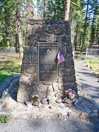 Mitchell Monument Near Bly, Oregon