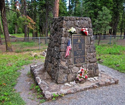 Mitchell Monument, Bly, Oregon