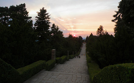 Sunset from Avala