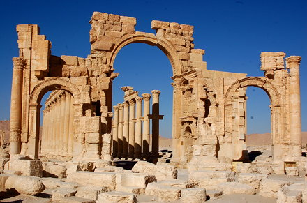 Monumental Archway of the Decumanus, Palmyra