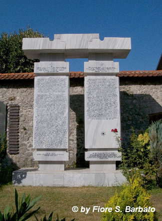 Monastero di Morača [MNE], 2011, lapide ai caduti.