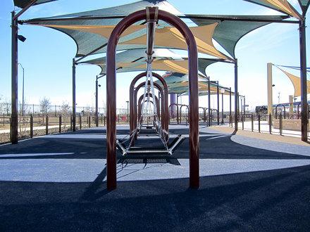 Morgan's Wonderland - Wheelchair Swings