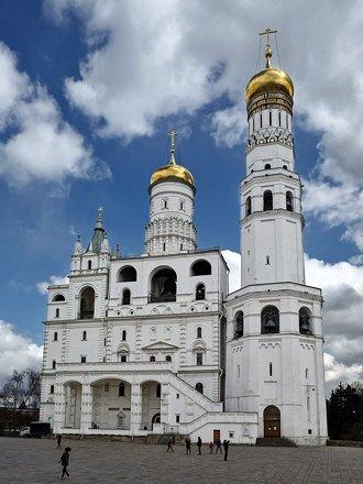 Колокольня Ивана Великого, XVI в. Кремль, Москва