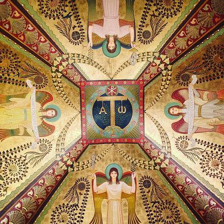 Teto do mosteiro de São Bento.