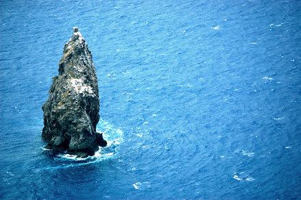 Roca solitaria (Easter Island - Moto Nui, Chile)