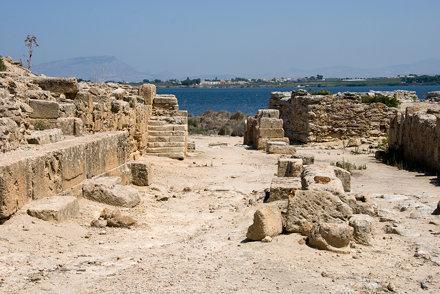 Sicilia 2012 - 087 - Mozia - fortificazioni poniche - porta nord