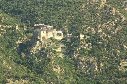 ???????? Μονή Σίμωνος Πέτρα / Simonopeter Monastery / Манастир на Симон-Петър