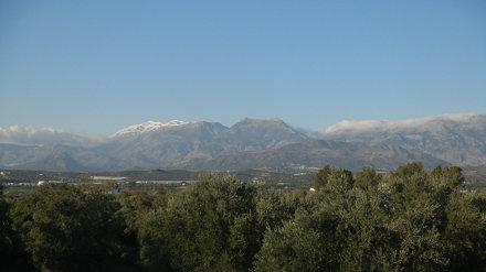 Snow on Mount Ida