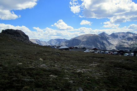 Colorado - Rocky Mountain National Park: View from Tundra Communities Trail