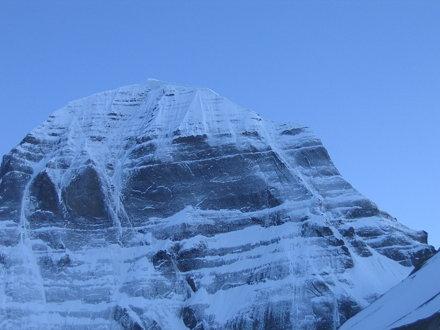 Mount Kailash at dusk