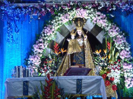 Altar at Mount Mary Church, Bandra