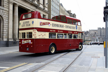 CUV 241C Leyland AEC, Edinburgh
