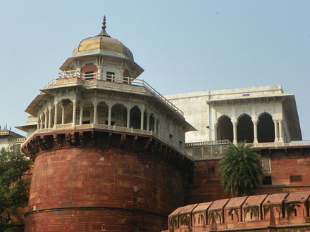 Agra 32 - Red Fort, Jasmine Tower
