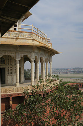 Agra Fort Musamman Burj exterior