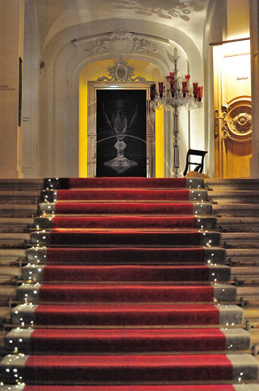 Grand stairs at Baccarat