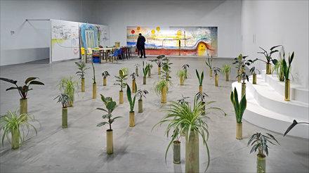 Installation de Sammy Baloji (Palais de Tokyo, Paris)
