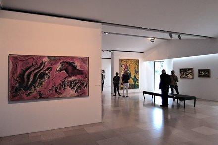 Франция. Ницца. Национальный музей Марка Шагала
