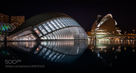 L'Hemisfèric of the City of Arts and Sciences