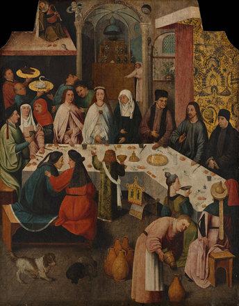 6.Брак в Кане (1475-1480) (93 х 72) (Роттердам, Музей Бойманса-ван-Бёнингена)