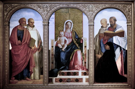 IMG_4938 Giovanni Bellini. 1430-1516. Venise. Pala Priuli 1505-1510.Museum Kunstpalast Düsseldorf. O