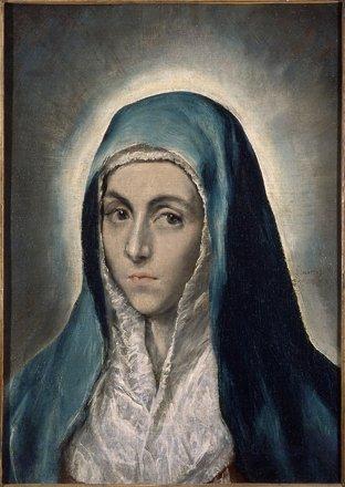 El Greco, Die Jungfrau (Mater Dolorosa), The Virgin Mary, La Vir