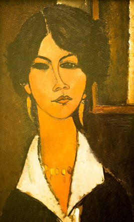 Algerian Woman by Amedeo Modigliani