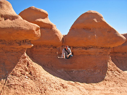Entrada Sandstone (Upper Jurassic) (Goblin Valley, southeast-central Utah, USA) 2