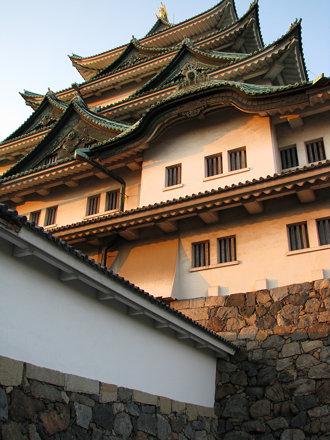 Nagoya Castle - Dusk