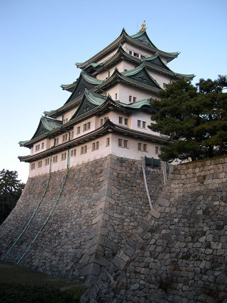 Nagoya Castle - long shot