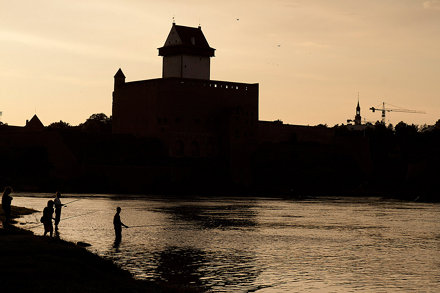 The evening in Narva