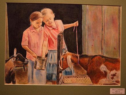 Fort Worth Stock Show - Children's Art