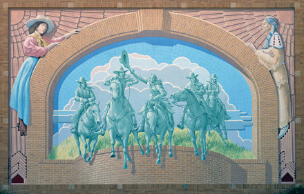 Cowgirl Hall of Fame Mural