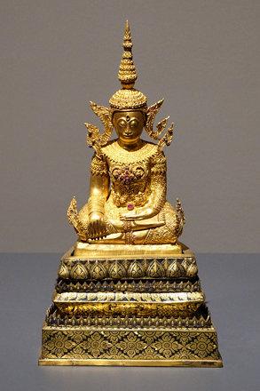 110 Crowned Buddha, 20c, Rattanakosin