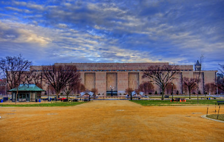 National Museum of American History (paint filter)