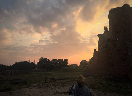 Novogrudok: Watching The Sunset Over The Ruins