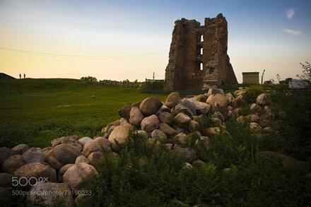 the Navahrudak castle hill