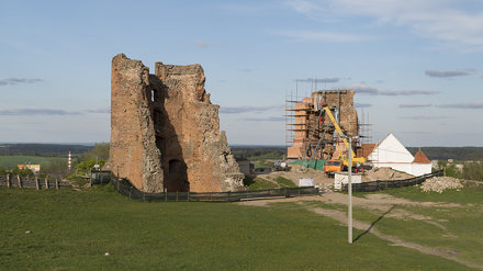 Ruins of Navahrudak Castle, 02.05.2014.