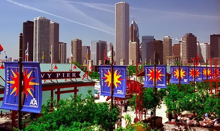 Navy pier amusement park - Chicago, United States - Travel photography