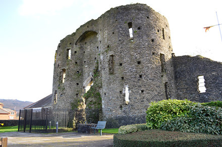 Neath Castle ruins