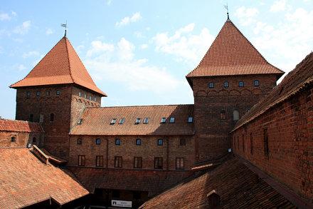Skrzydło wschodnie na zamku w Nidzicy