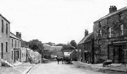 Main Street, Felton, Wardle's Shop, Wharrier's Shop, 1900