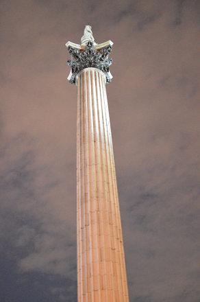 Up Nelson's Column